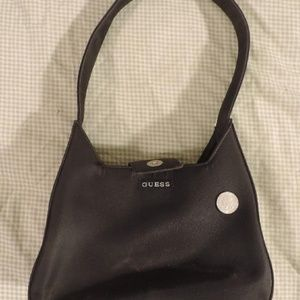 ONE Guess pocket book purse handbag hand bag 10x6""